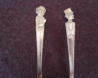 CHARLIE MCCARTHY Spoon Lot Duchess Silver Plate