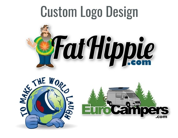 Character Design Logo : Logo design character custom business