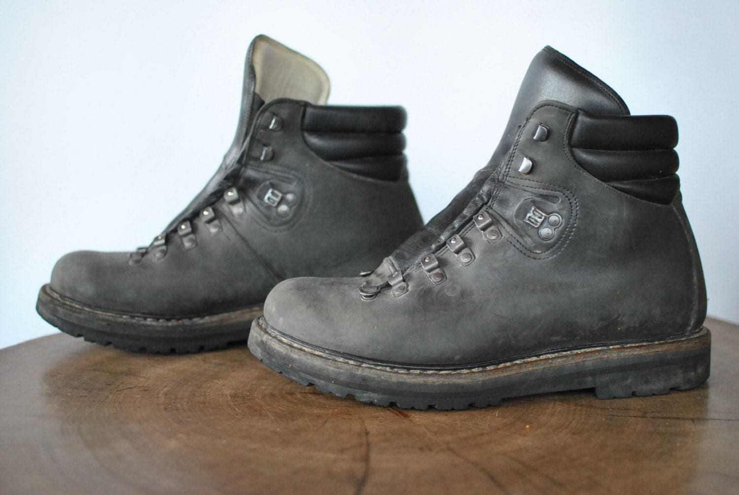handmade hiking boots vintage handmade hiking s ankle boots 068 7564