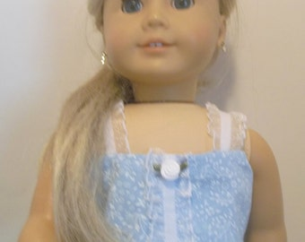 Crystal Blue Sundress for AG dolls