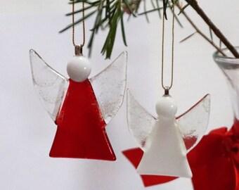 Fused glass Angel – Christmas decoration