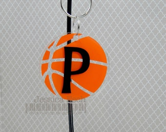 Personalized Basketball Key Chain~ Party Favor/ Team Gifts .... Custom