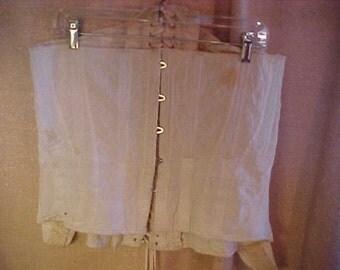 Victorian White Corset, Medium, #500