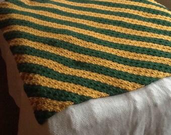 Go Packers Crocheted lap afghan