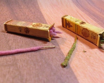 Dollhouse Miniature FAUX Packaged Stick Incense 1/12 Miniature