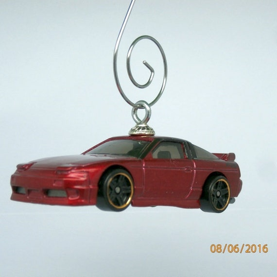 1996 96 Nissan 180 SX Car Christmas Ornament Ornament Hook