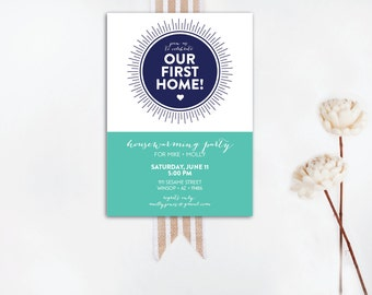 INSTANT DOWNLOAD housewarming party invitation / housewarming invitation / our first home / new home / new home party / housewarming bbq