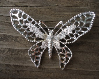 Sarah Coventry Butterfly Brooch