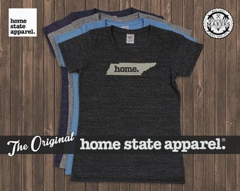 Tennessee Home. T-shirt- Womens Cut