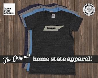 Tennessee Home. T-shirt- Womens Cut