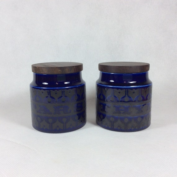 vintage kitchen storage jars vintage storage jar blue kitchen canister spice jar parsley 6833