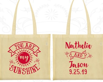 Cotton Bag, Tote Bags, Wedding Tote Bags, Personalized Tote Bags, Custom Tote Bags, Wedding Bags, Wedding Favor Bags (273)
