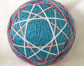 Pentagram temari ball