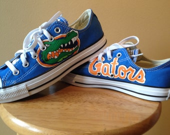 Florida Gators Converse Hand Painted
