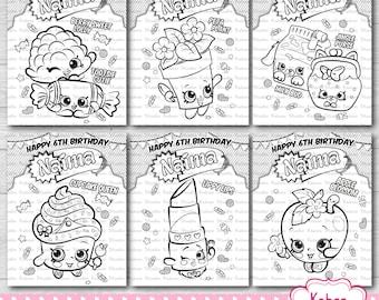 petkins coloring sheets birthday party supplies activity sheets ...