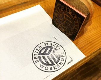 Custom made rubber stamp