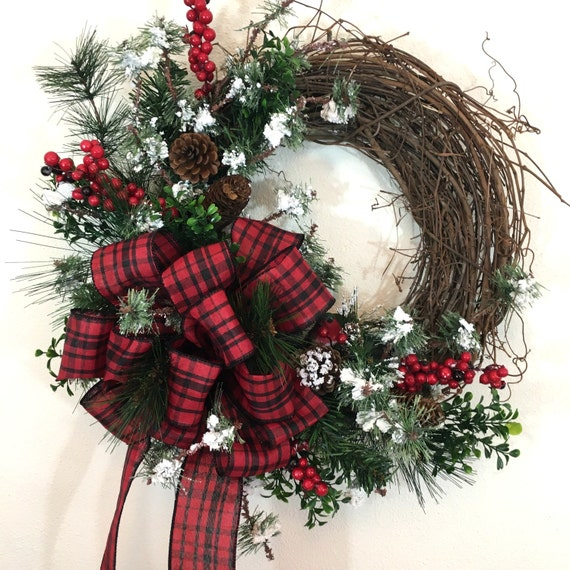 natural christmas wreaths christmas wreaths for sale winter. Black Bedroom Furniture Sets. Home Design Ideas