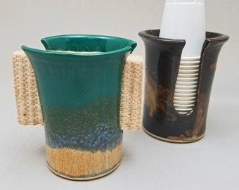 dixie cup dispenser  etsy, Bathroom decor