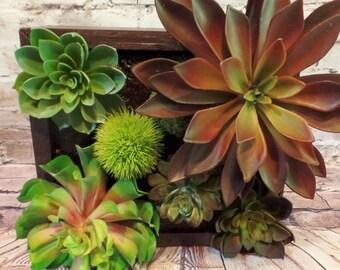 Tabletop Artificial Succulent Arrangement