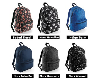 Graphic School Backpack 5 Colours New for 2016