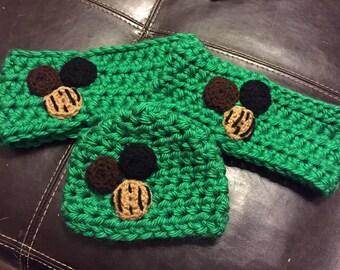 Crochet Cookie Ear Warmer