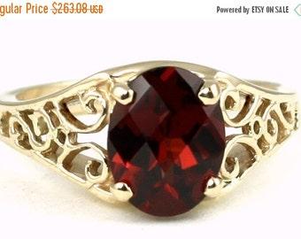 Summer Sale, 30% Off, R005, Mozambique Garnet, 10KY Gold Ring