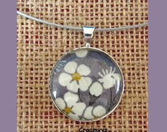 Necklace liberty mitsi grey