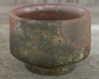 Tea Bowl, Japanese Pottery, Japanese Ceramics, Matcha, Chawan, Tea Bowl, Tea Cup, Rust, Bizen Pottery, Tea Ceremony, Made In Japan.