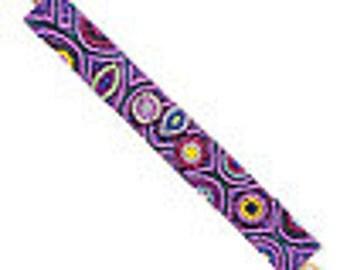 Beautiful Velveteen Seed Bead Bracelet, Seed Bead Design Bracelet, Bead Bracelet