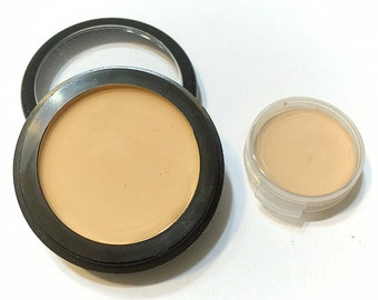 BAMBOO Perfecting Cream Foundation - Creamy Foundation Concealer Makeup - Vegan Gluten Free