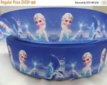 "On Sale 1.5"" Princess Frozen girl Printed Grosgrain ribbon"