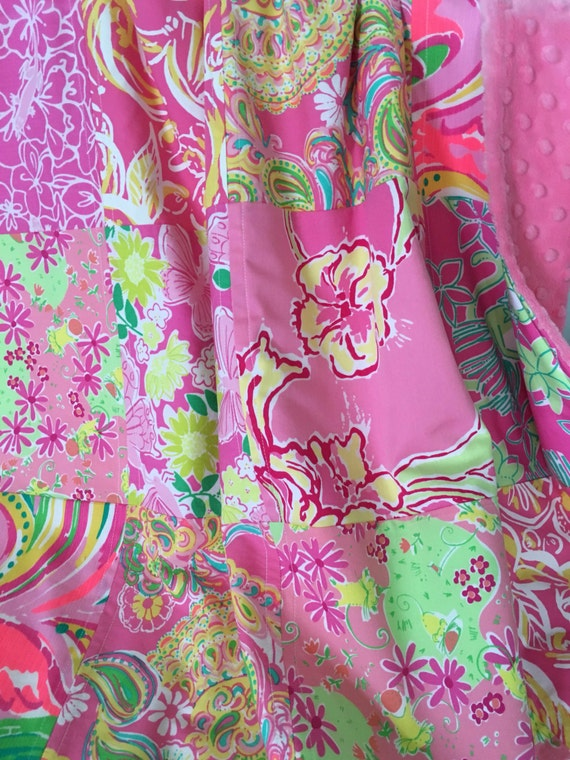 Lilly Pulitzer Baby Blanket Lilly Pulitzer Patchwork Blanket