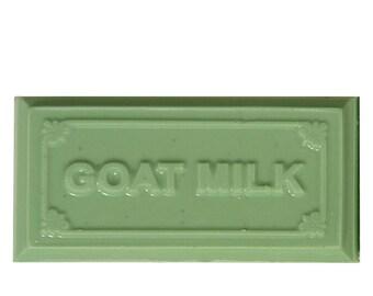 Goat Milk Soap Lemongrass and Sage Body & Shaving Soap 4 oz. ( 2 Pack )