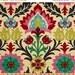 SHIPS SAME DAY 10 Yards Waverly Santa Maria Desert Flower - 676122 - Multi Color Damask- Fabric by the 10 yard