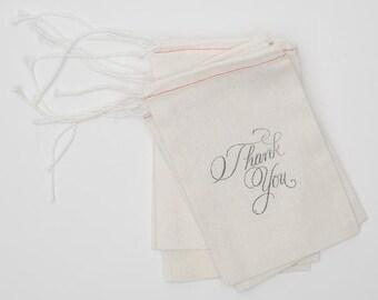 Wedding Thank You Bags (10), Wedding Favors, Wedding Guest Gift, DIY Thank you