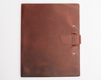 Wedding Guest Book, BLANK Leather Journal