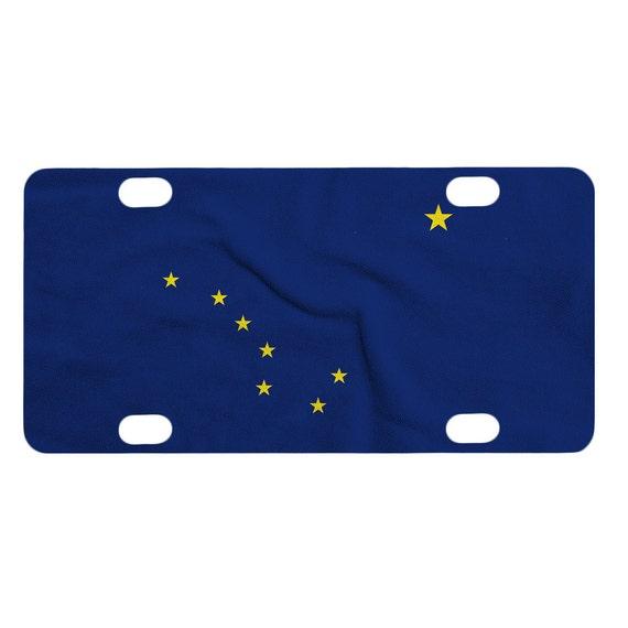 New Alaska License Plate Design
