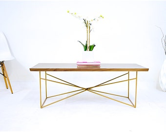 Gold Coffee Table Copper Table Industrial Modern Coffee Table With Coffee And
