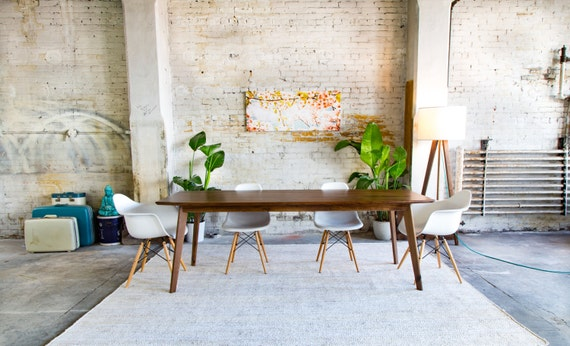 Dining Table Midcentury Modern Dining Table Modern Dining