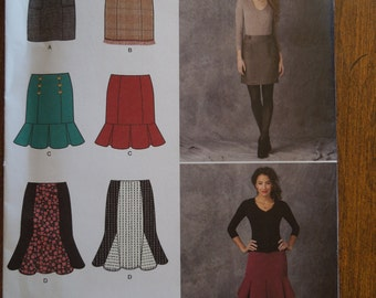 Simplicity 1321, skirts, size varies, misses, womens, UNCUT sewing pattern, craft supplies
