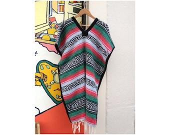 Handwoven Poncho Cape/ Ethnic Wool Poncho/ Poncho/ Blanket Poncho/Handmade/ Ethnic/ Hippie/ Boho/ Bohemian/ Tribal/ Festival