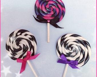 Sweet Lollipop hair clip