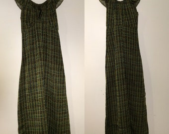 90's Anna Sui Maxi Dress