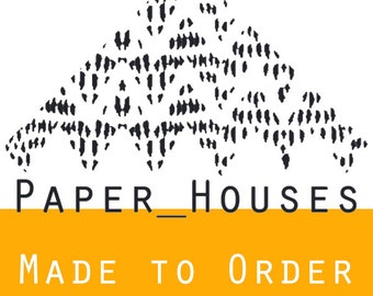 Made to Order Paper_Houses Silk Scarf