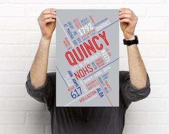 QUINCY // Art Print