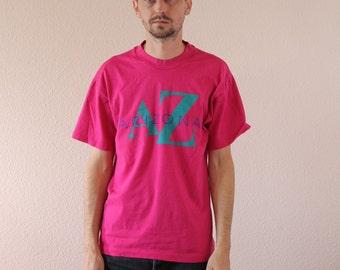 Pastel Southwest AZ Arizona Shirt Mens XL
