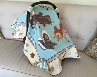 Bambi Baby Boy Car Set Cover