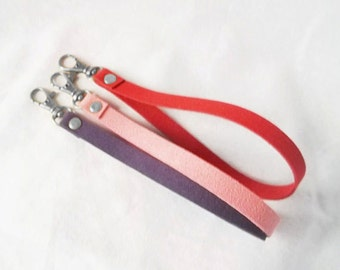 Key chain - Extras - Add On Wristlet to any Pouch - Key wristlet - Wristlet Strap - Key Fob Wristlet - Wristlet for Wallet