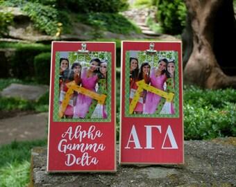 Alpha Gamma Delta Clip Frame