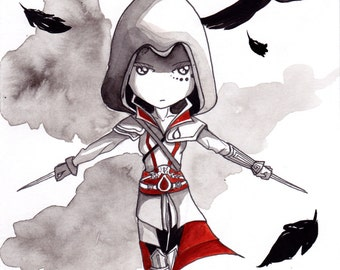 Ana Dess in Assassin's creed - Illustration